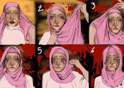 Islam, Hamdaoui Dessin de presse Bon pour la Tête