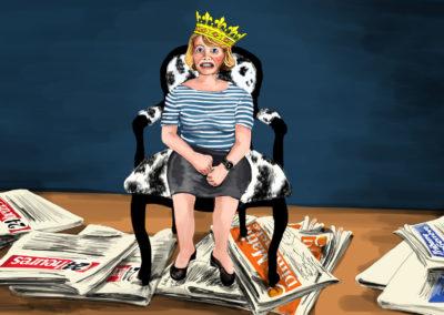 Portrait, Dessin de presse Bon pour la Tête