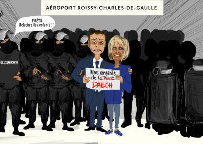 Daesh, Dessin de presse Bon pour la Tête